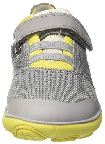 Geox J Nebula A, Sneakers Basses Garçon Gris (Grey/Limec0666)