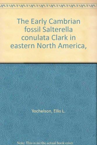 The Early Cambrian Fossil Salterella Conulata Clark In Eastern North America