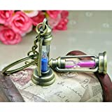 #8: ILL Antiqueo Fun Sand Timer Collectible Key chain,Pack of 2