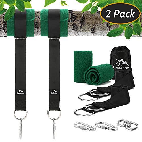 Awroutdoor Kit de Correas para Colgar de árbol