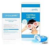 Crystal Smile Luz LED Azul Fría. Aprobado por la Unión Europea y el Reino Unido - Accelera El Proceso Blanqueador. Se puede usar con cualquier kit o producto de Crystal Smile.