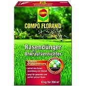 Compo Floranid Rasendünger mit Unkrautvernichter, 6.00kg (13316)