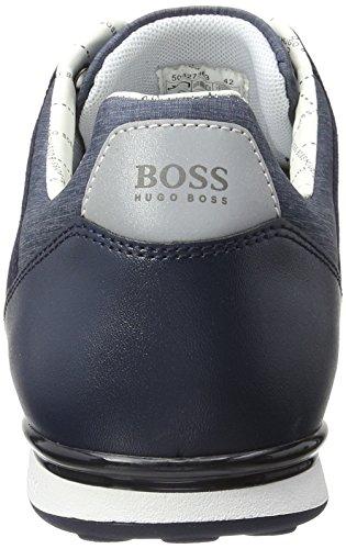Boss Green Arkansas, Sneakers Basses Homme Bleu (Dark Blue 401)
