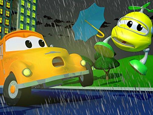 Klein Hektor der Helikopter wird von einem fliegenden Regenschirm getroffen/Mat das Polizeiauto trifft Penny das Flugzeug beim Golfspielen mit einem Golfball!
