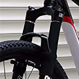 SHIJING 1 Par Marco de Bicicleta Protector de Cadena Ciclismo MTB Bicicleta Tenedor Delantero Protector Protector Wrap Cover Set Accesorios de Bicicleta
