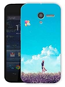 "Humor Gang Live Free Printed Designer Mobile Back Cover For ""Motorola Moto X"" (3D, Matte Finish, Premium Quality, Protective Snap On Slim Hard Phone Case, Multi Color)"