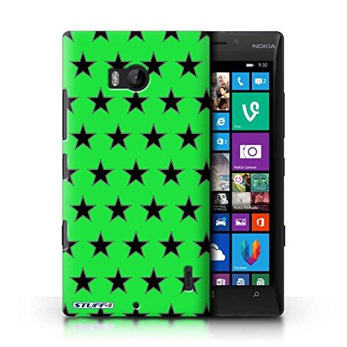 Custodia/Cover Rigide/Prottetiva STUFF4 stampata con il disegno Stelle Modello per Nokia Lumia Icon -