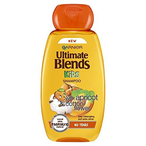 Garnier Ultimate Blends Kinder apricot keine Tränen Shampoo 250ml, 6Stück