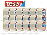 tesa 64014 Klebeband Paketklebeband Packband 66m x 50mm (18 Rollen, Transparent)