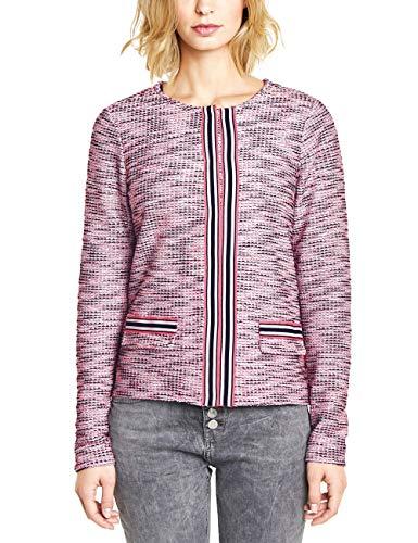 Street One Damen 313262 Anzugjacke, Dark Blossom pink, Herstellergröße:36