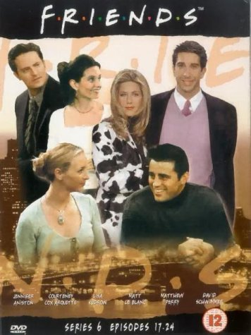 Click for larger image of Friends: Series 6 - Episodes 17-24 [DVD] [1995]
