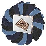 Parches Ropa Termoadhesivos, Satkago Patch Sticker 18 Pcs 3 Colores Parches de Algodón de Vaqueros DIY Coser o Planchar en Los Parches Apliques para Jeans