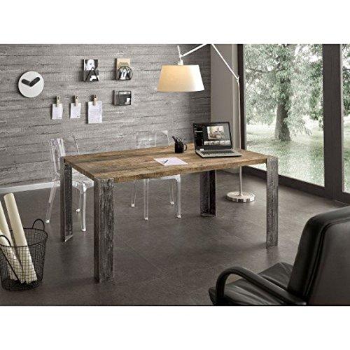 Estense – Table Design en Bois Massif chêne – Art. PT 004 GA 004