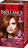 Brillance Intensiv-Color-Creme 701 Kühler Topas Jewel Collection, 3er Pack (3 x 143 ml)