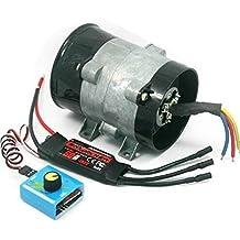 Tipo 5-Wire 380 W coche eléctrico Supercharger Turbo Boost de los ventiladores ...
