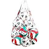 LeeIU Ballnetz Balltragenetz für Fußball Basketball Volleyball , Große Kapazität