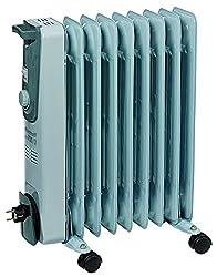 Einhell Ölradiator MR 920/2 (bis 2000 Watt, 3 Heizstufen, stufenloser Thermostatregler, fahrbar, Kipp- und Überhitzungsschutz, Betriebsanzeige)