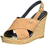 Tommy Hilfiger Women's E1285del 6b Wedge Heels Sandals