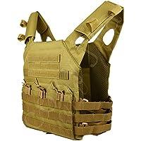 COZYJIA JPC Taktische Weste, Militärische Taktische Armee MOLLE Weste für Outdoor Jagd Angeln Wandern Airsoft War Game