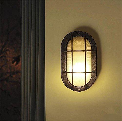 XCJ Vintage Industrial Wandleuchten Wandleuchte Wandleuchte Schlafzimmer Treppenhaus Flur Beleuchtung Aluminium Loft Art Wandleuchte E27