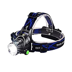 LED Headlamp,VICTPOWER 1000 Lumens Zoomable Rechargeable