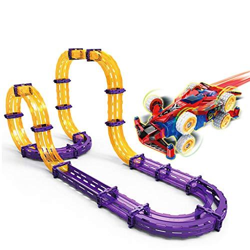 4WD Track, Racing, Track Race Rennspielzeug , Track Car, Rennstrecke Auto Set für das Kind geben das beste Geschenk (Car Race Track Rc)