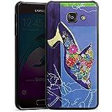 Samsung Galaxy A3 (2016) Housse Étui Protection Coque Chaussure Fleurs Fleurs