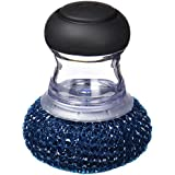 OXO 1068651 - Estropajo de malla con jabón incorporado, color azul y negro
