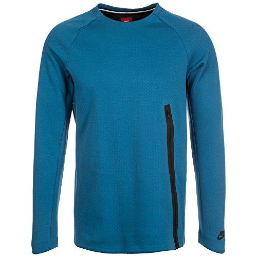 Nike Herren Tech Fleece Crew Sweatshirt, Blau, L Tech Fleece-pullover