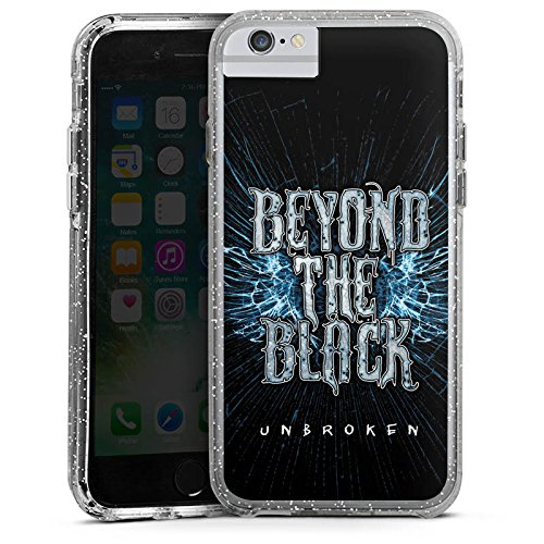 Apple iPhone 6s Bumper Hülle Bumper Case Glitzer Hülle Beyond The Black Btb Unbroken Bumper Case Glitzer silber