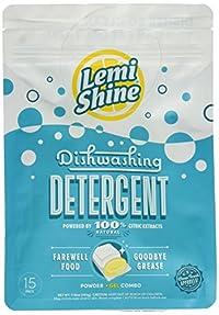 Lemi Shine Auto Dish Detergent, 15 Count