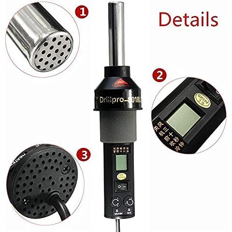 Mohoo 220V 450 450W LCD stazione di saldatura pistola ad aria calda di marca GJ-8018lcd drillpro pistola ad aria di controllo di temperatura portatile