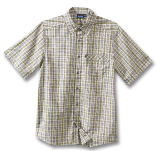 KAVU Herren trustus Shirt XS grau -