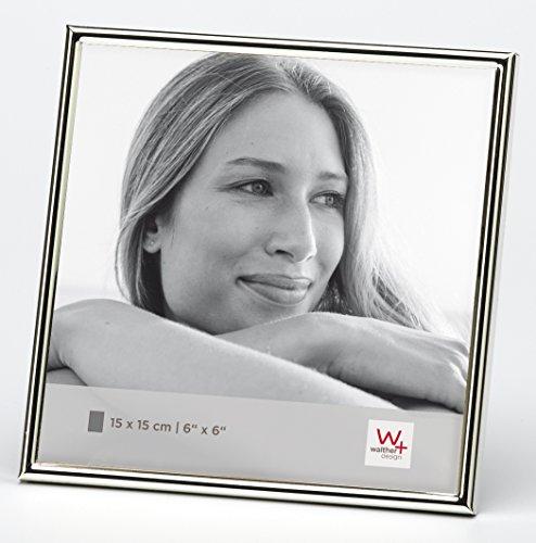 Walther design WD515S Chloe Portraitrahmen, 15 x 15 cm, silber