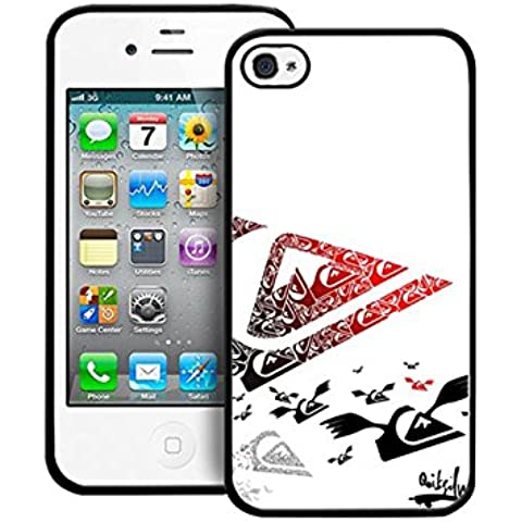 Iphone 4 / 4s Cabina telefonica Brand Quiksilver Iphone 4s CustodiaCase Present for Man Quiksilver Iphone 4 Cell Phone Ultra sottile Quiksilver