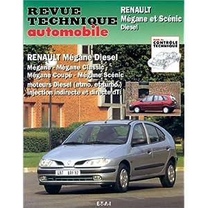 Revue Technique 587.3 Renault Megane et Scenic Diesel (95-98)