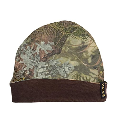 King 's Camo Beanie Baumwolle Reversible, Unisex, Mountain Shadow -