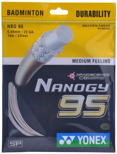Yonex Nanogy 95 Microfiber Badminton String  Cosmic Gold