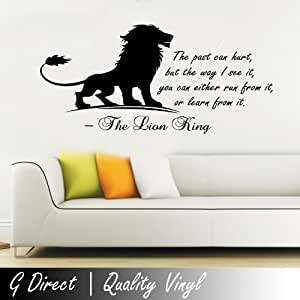 bedroom quotes for walls the king inspirational wall sticker quote 14382