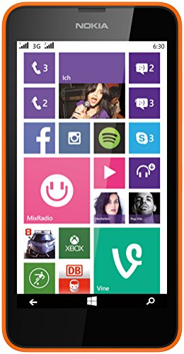 Nokia Lumia 630 Dual-SIM Smartphone (4,5 Zoll (11,4 cm) Touch-Display, 8 GB...