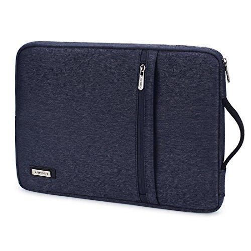 LONMEN Wasserdichte Laptoptasche 15 - 15.6 Zoll Verdicken Kratzschut Mit innerer Laptophülle Tasche Wasserdicht Stoßfest Geeignet für 15