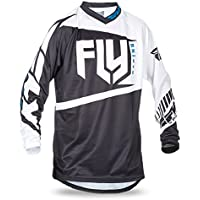 432a5cb43 Fly Racing Flug 2017 F-16 Mx Motocross MTB Downhill Youth Jersey  Schwarz Weiß