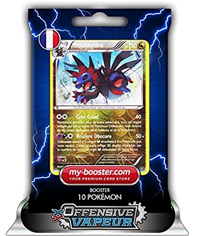 TRIOXHYDRE holo reverse 86/114 150PV XY11 OFFENSIVE VAPEUR - Booster de 10 cartes Pokemon francaises my-booster