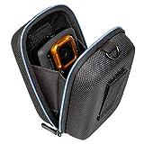 Kameratasche Hardcase Kompaktkamera Kamera Tasche passend für Canon PowerShot G7 / G9 X - Hülle Sony DSC RX100 I II III IV V 1 2 3 4 5 - schwarz blau