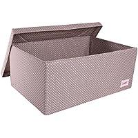 Minene 1547 Aufbewahrungsbox, groß, taupe grau mit weißen Punkten preisvergleich bei kinderzimmerdekopreise.eu