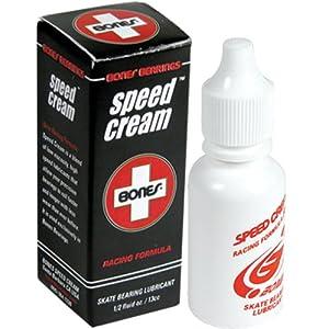 Bones Bearings Unisex- Erwachsene Kugellager Speed Cream 1/2 oz transparent, 7.5 x 0.5 x 1.5
