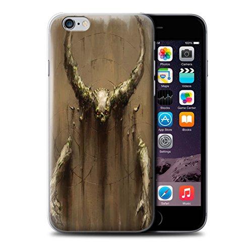 Offiziell Chris Cold Hülle / Case für Apple iPhone 6S / Pack 10pcs Muster / Dunkle Kunst Dämon Kollektion Hörner