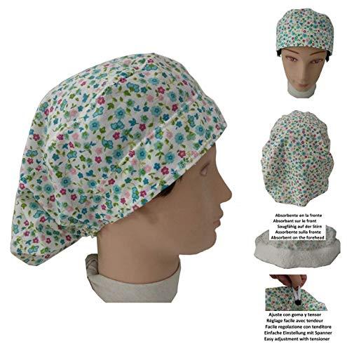 Blumen Medizinischen (Surgical scrub caps, Haube, kochmütze, Medizinische Kappen Blumen Für langes Haar. Krankenpflege, ZAHNÄRZTE, Veterinär-, Küche, Gebäck und andere Fachleute)