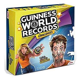 Rocco Giocattoli 21191744 Guinness World Records Challenges - Juego de Cartas (en francés)