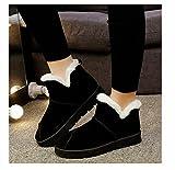DXD DXD Winter Wildleder Europäischen und Amerikanischen Mode Wasserdicht Taichung Rohr Ärmel Warme Rutschfeste Atmungsaktive Schnee Stiefel Frauen Stiefel